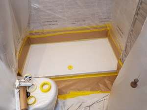 Shower Base Repairs 4