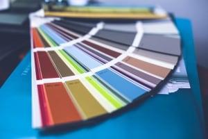 paint swatch colour