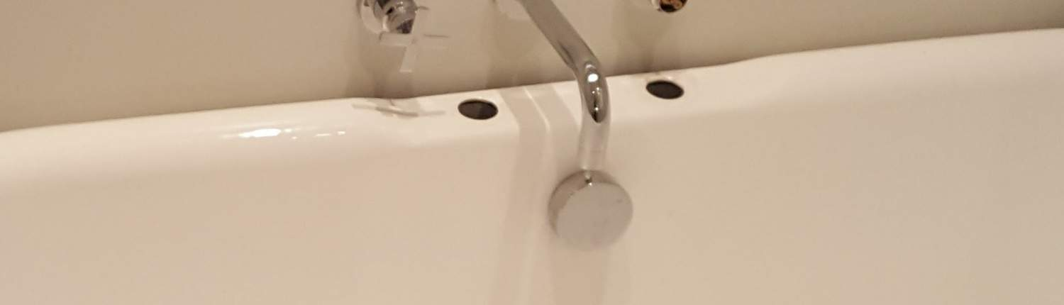 A nicer way of covering tap holes. 12