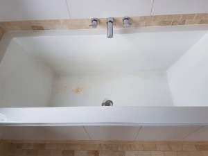 5 common examples of acrylic shower tray repair and acrylic bath repair. 1