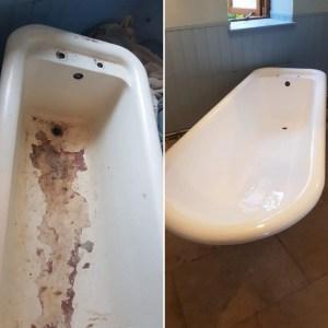 Bath Enamel Repair 1